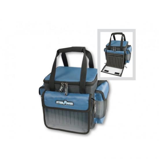 Krepšys DAM Steelpower Blue Specialist Tackle Bag 56538